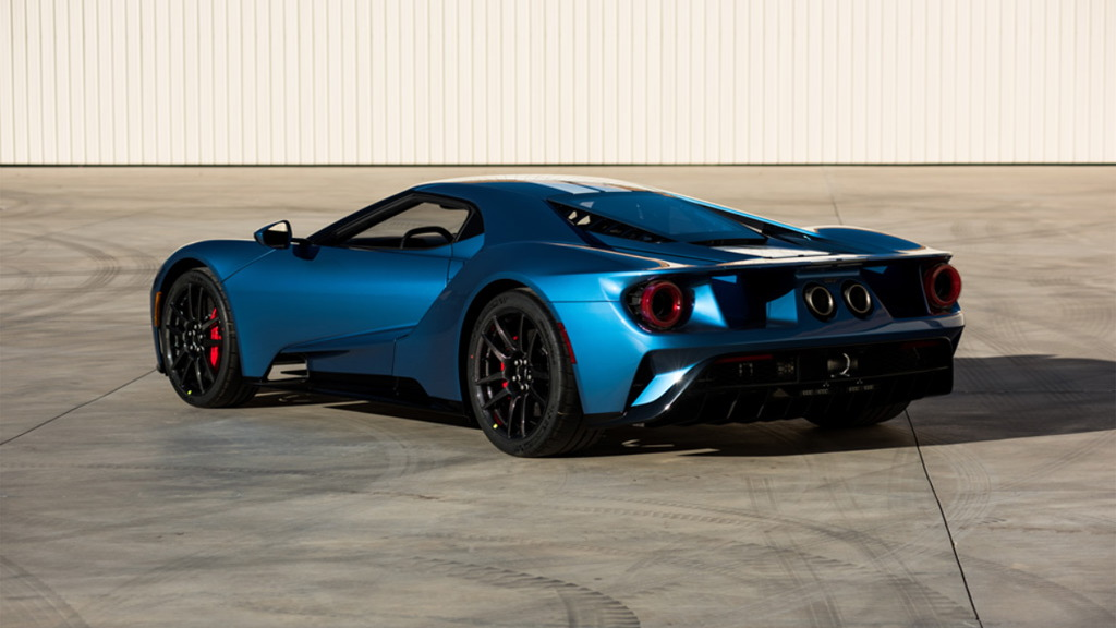 2017 Ford GT - Image via Barrett-Jackson