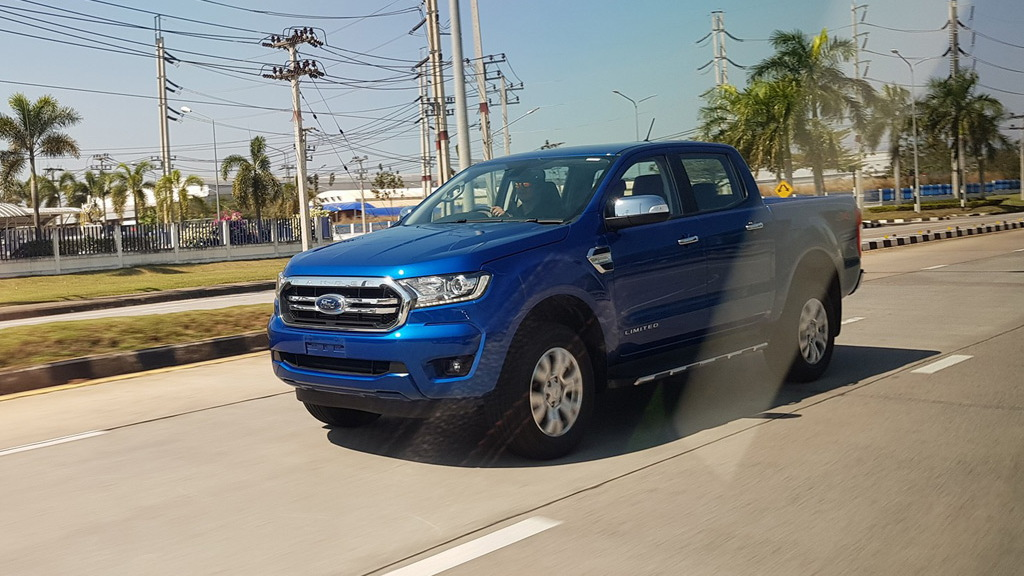 2019 Ford Ranger for Thailand leaked - Image via NewRangerClub