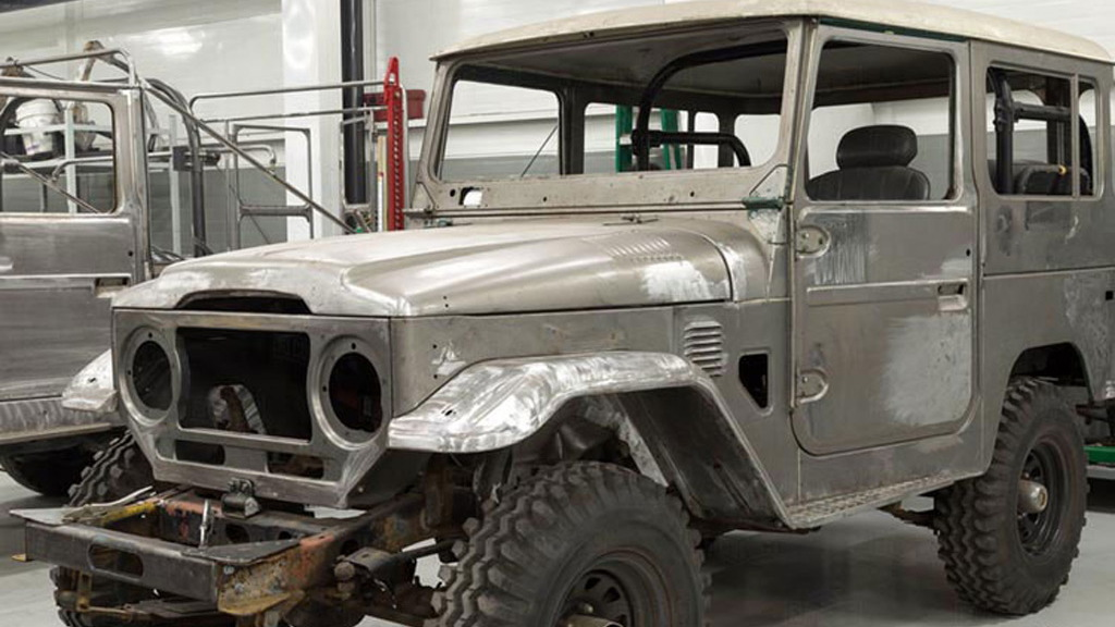 The FJ Company's Toyota Land Cruiser restoration service