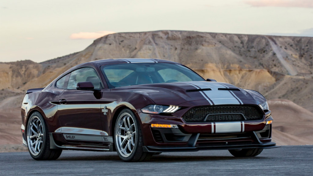 2018 ford shelby super snake boasts new look  more power