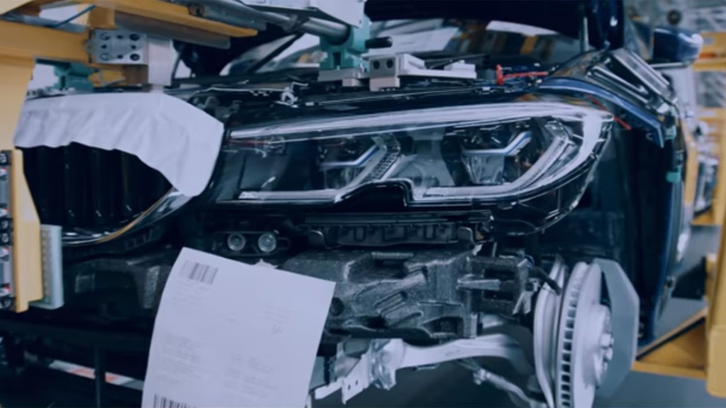 Teaser for 2019 BMW 3-Series