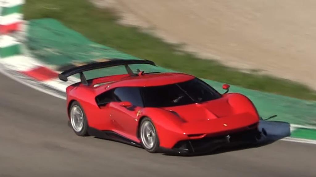 Ferrari P80/C at Monza