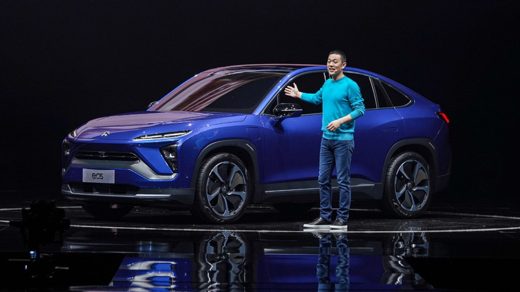 Nio CEO and Chairman William Li introduces the 2020 EC6