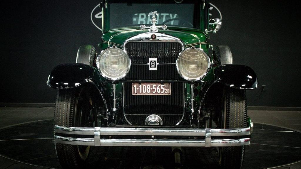 Al Capone's 1928 Cadillac Series 341 Town Sedan
