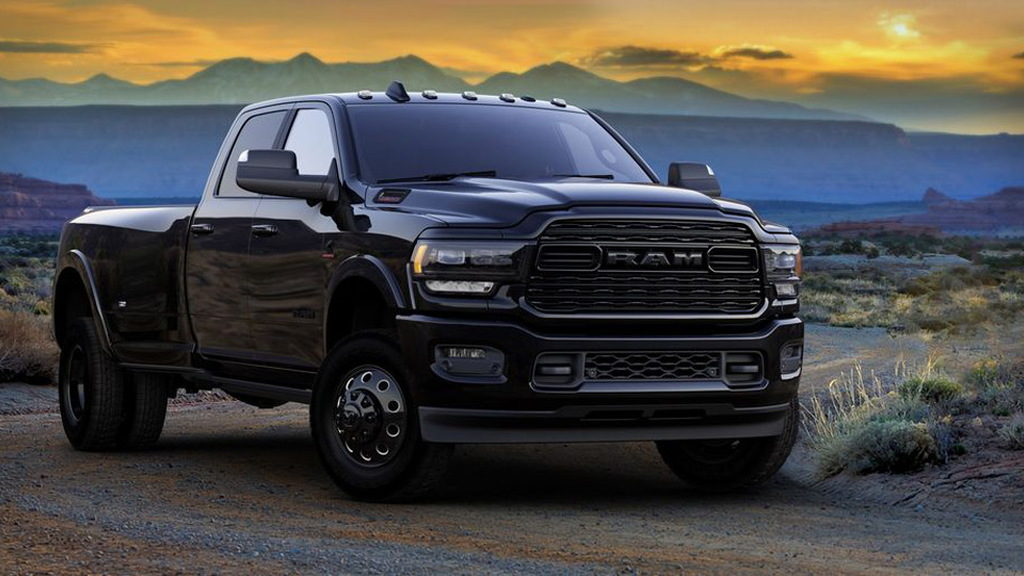 2020 Ram 3500 Heavy Duty Limited Black Edition