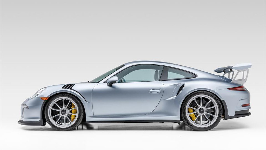 2016 Porsche 911 GT3 RS once owned by Jerry Seinfeld - Photo credit: Bonhams