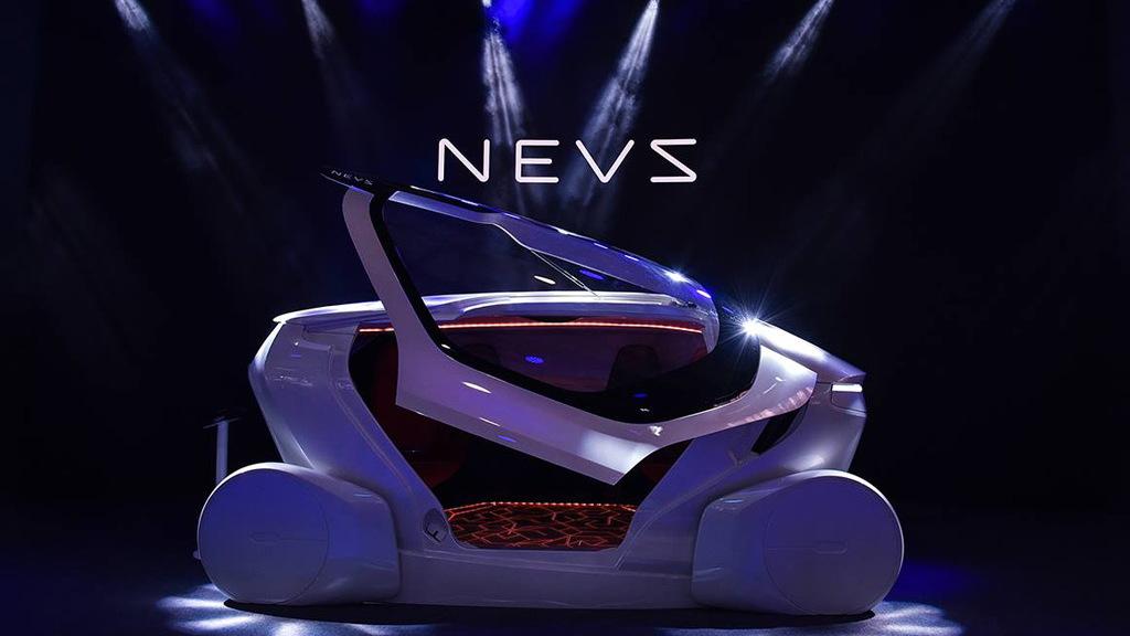 NEVS self-driving car concept