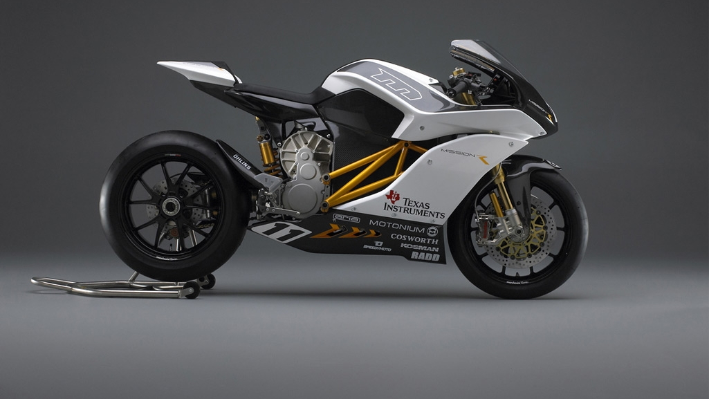 Mission Motors Mission One electric motorcycle prototype