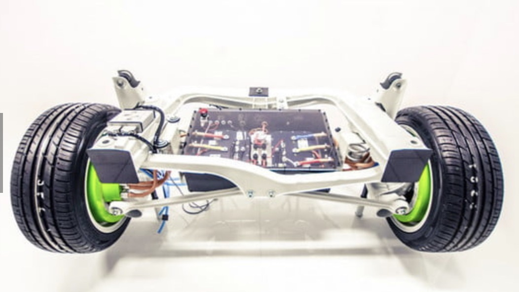 Elaphe in-wheel electric powertrain