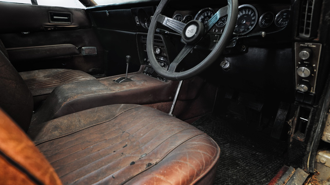 1968 Aston Martin DBS barn find