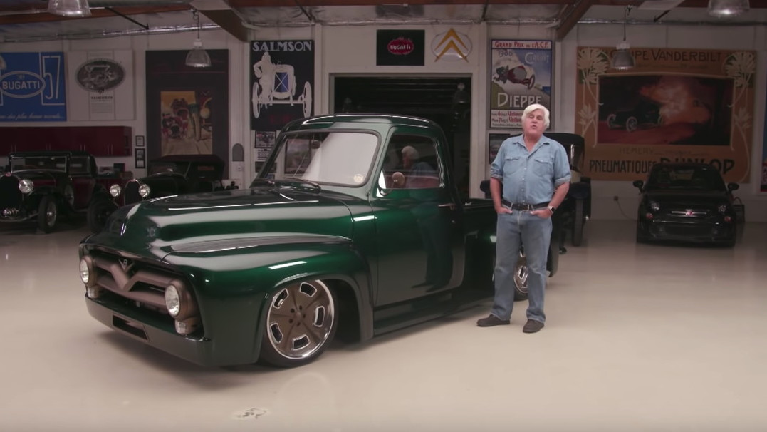 1963 Ford F100 featured on Jay Leno's Garage