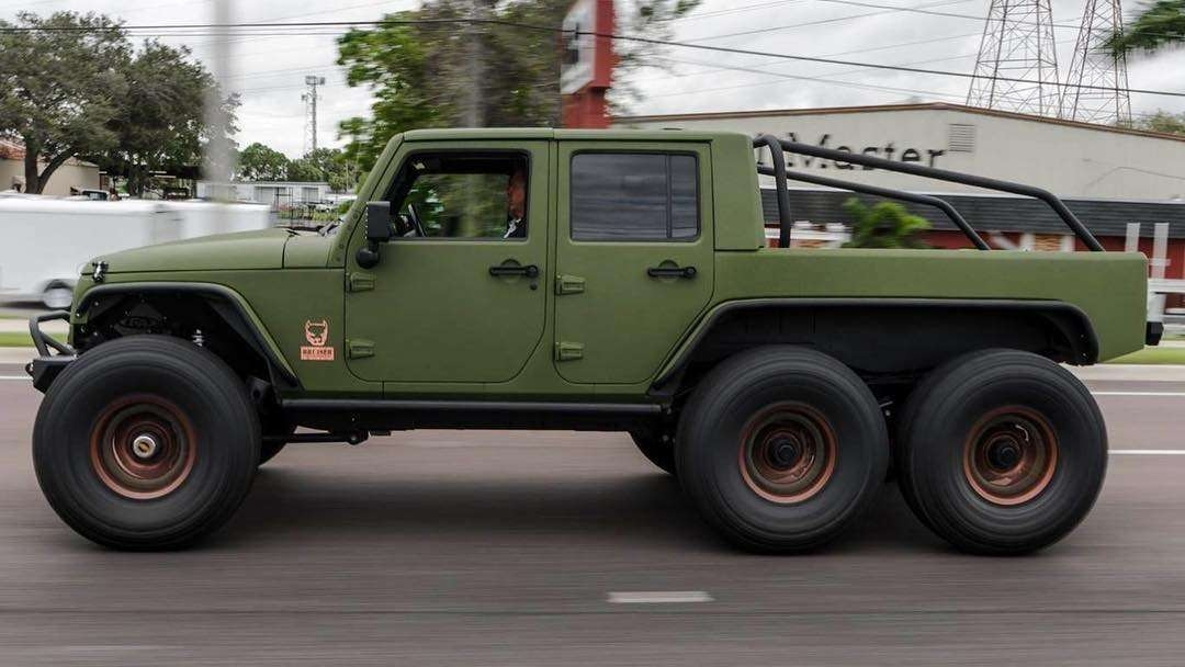 The LS3-powered Bruiser Conversions Jeep Wrangler 6x6