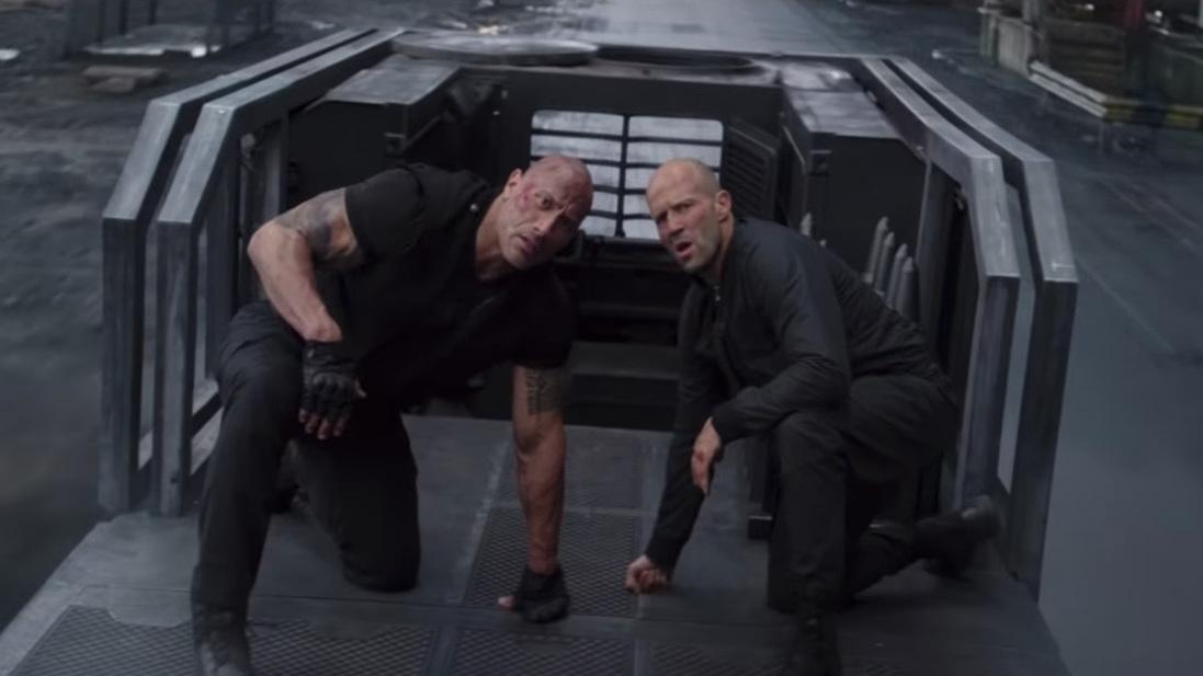 'Hobbs & Shaw' second trailer