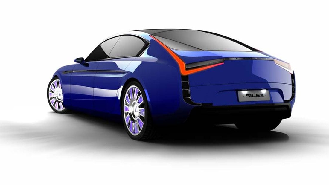 Silex Power's Chreos electric luxury sedan (Image: Silex Power)