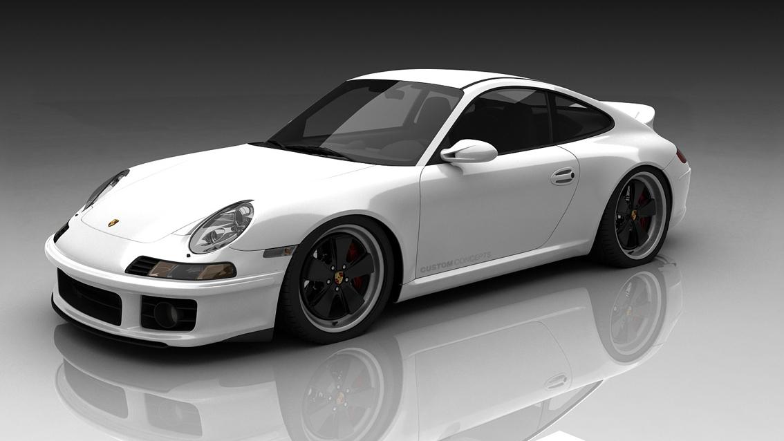 Custom Concepts retro 911 kit, designed by Bo Zoland. Image: Zoland Design