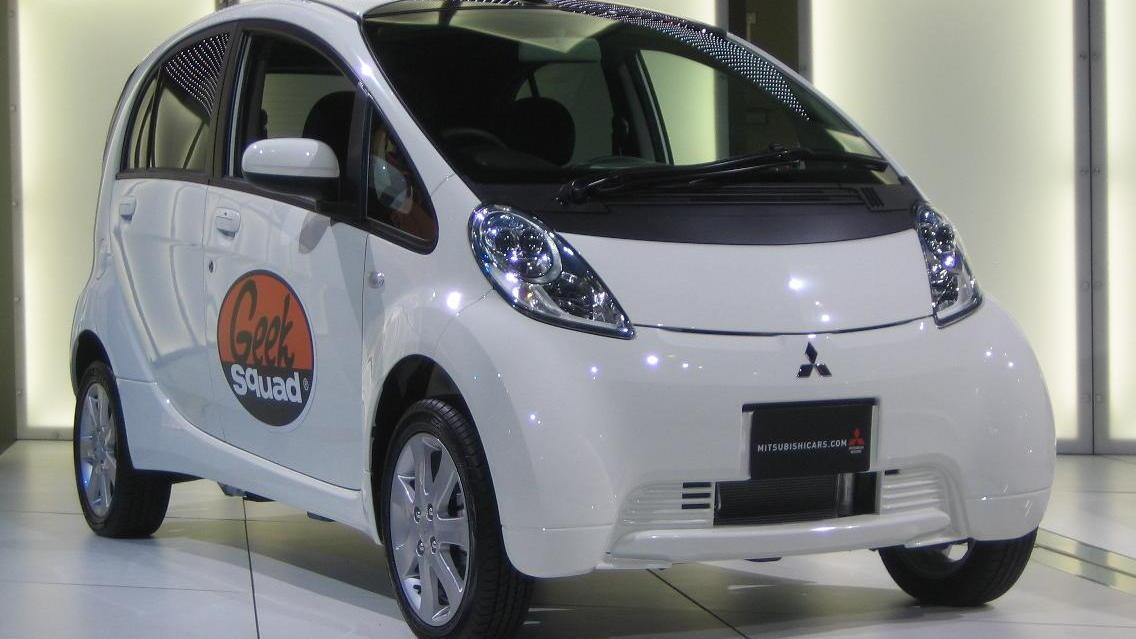 Mitsubishi i-MiEV Electric Car for Geek Squad, 2009 LA Auto Show