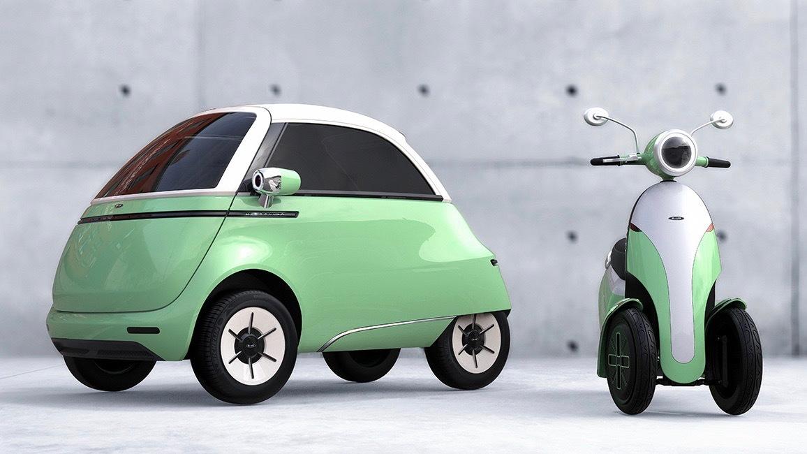 Micro Mobility Microlino 2.0 and Microletta