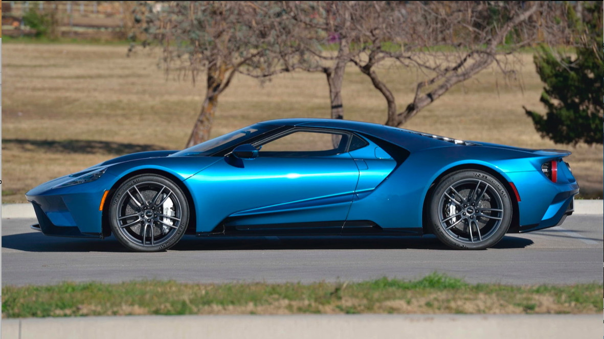Ford Gt Originally Commissioned By John Cena Image Via Mecum Auctions