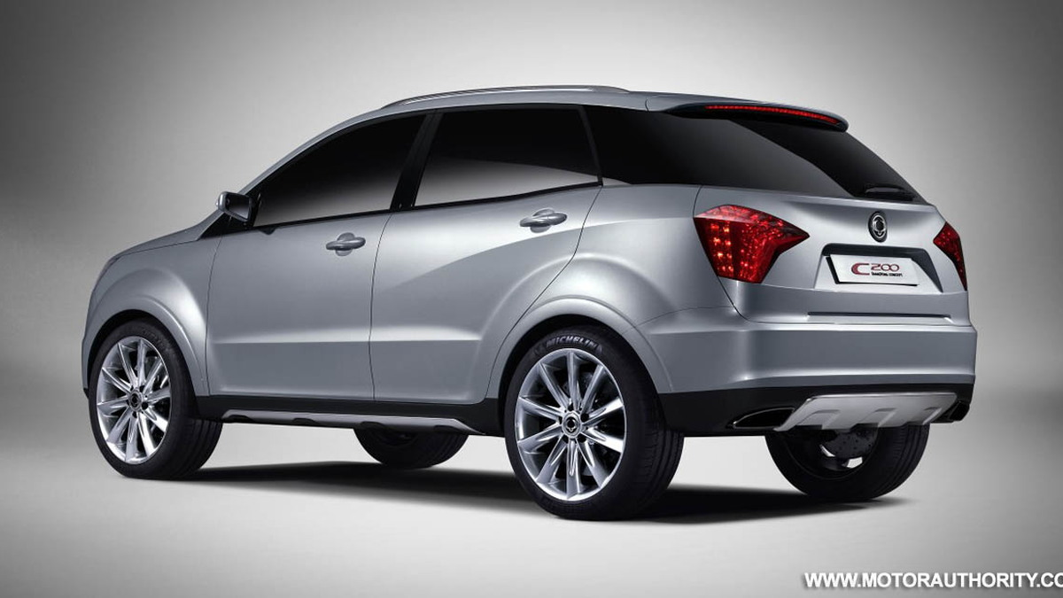 2008 ssangyong c200 crossover concept 003