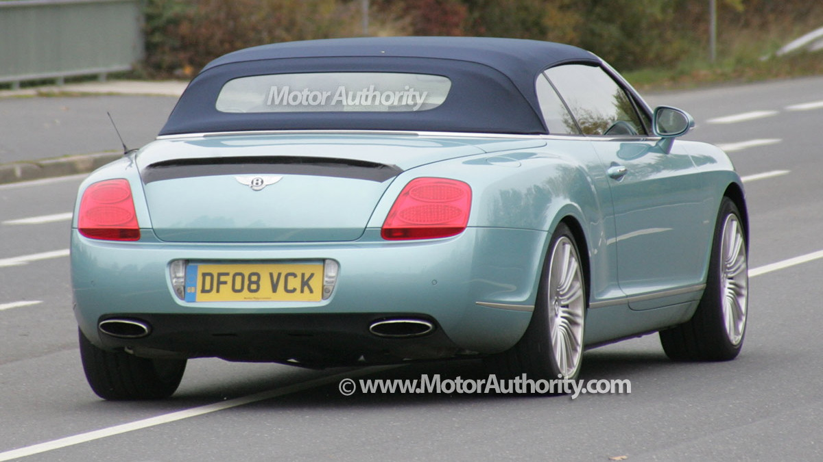 2010 bentley continental gtc speed spy shots oct 009