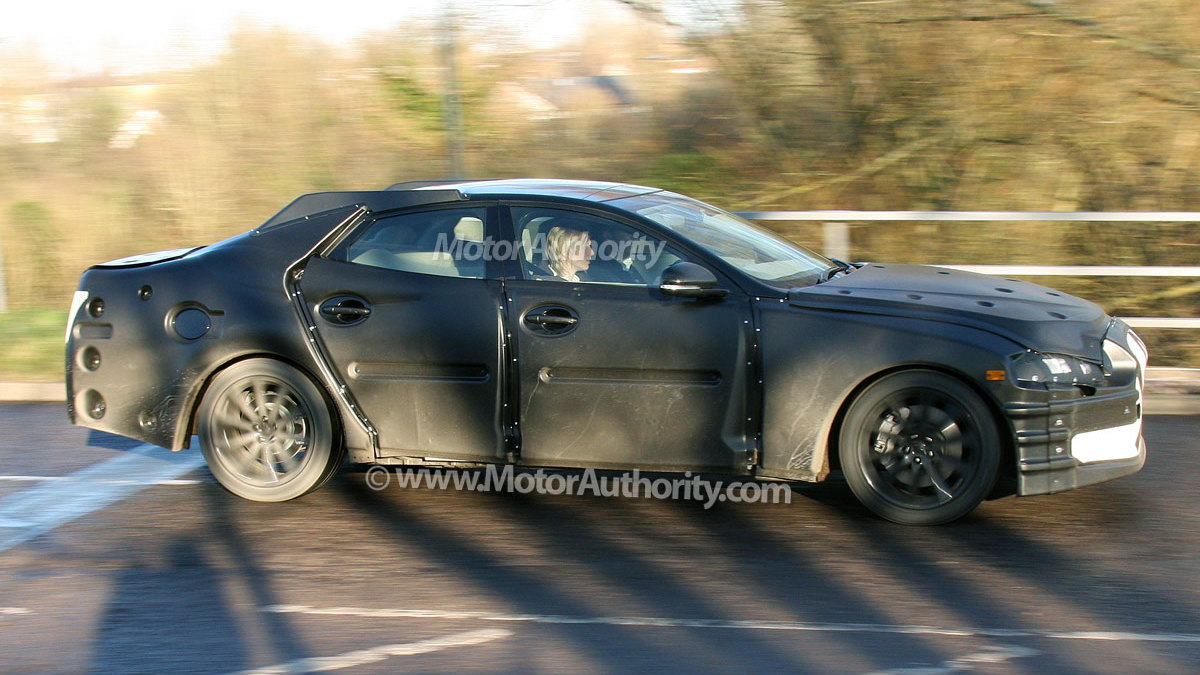 next gen jaguar xj spy shots 005