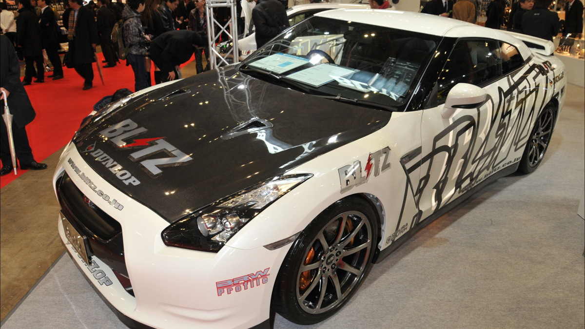 2009 tokyo auto salon blitz gt r 005