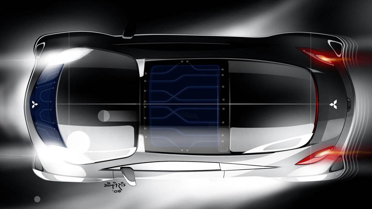 2009 mitsubishi i miev sport air concept 001