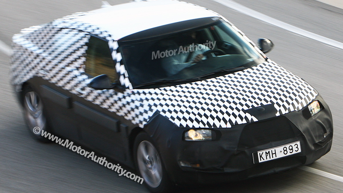 2010 saab 9 5 spy shots january 005
