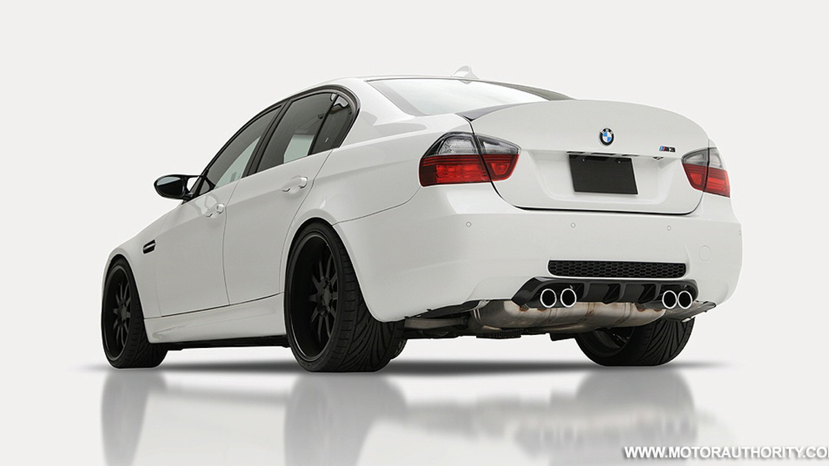 Vorsteiner Lifts Aerodynamic Efficiency Of The Bmw M3 Sedan