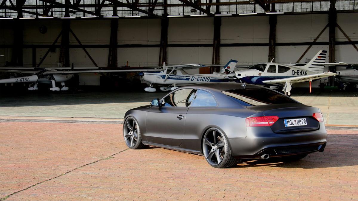 avus performance a5 coupe matte black 003