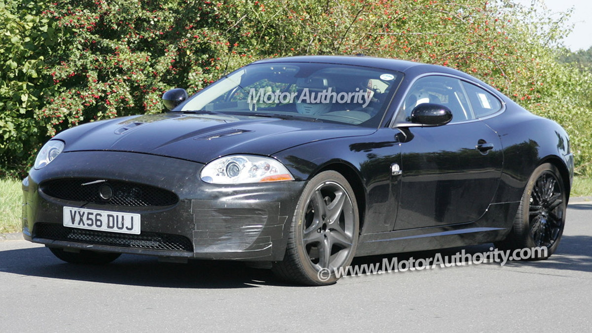 mystery jaguar xk spy shots september 08 002