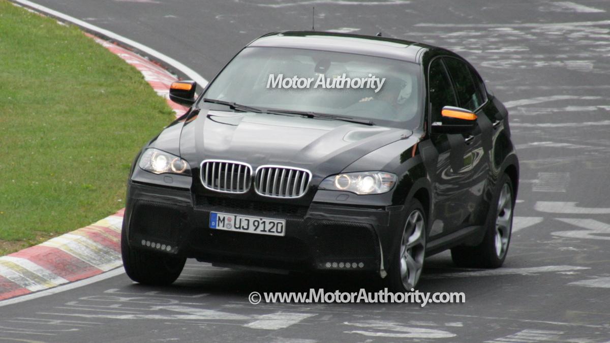 2008 bmw x6 tt spy shots nurburgring 001