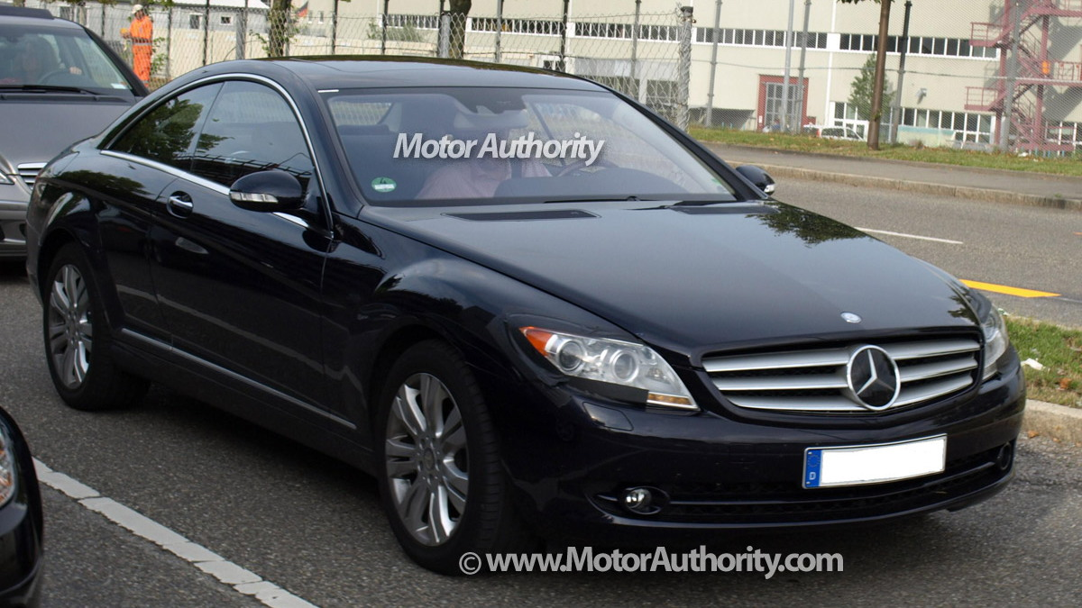 mercedes benz cl facelift motorauthority 001