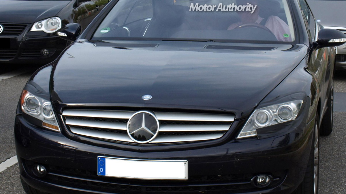 mercedes benz cl facelift motorauthority 005