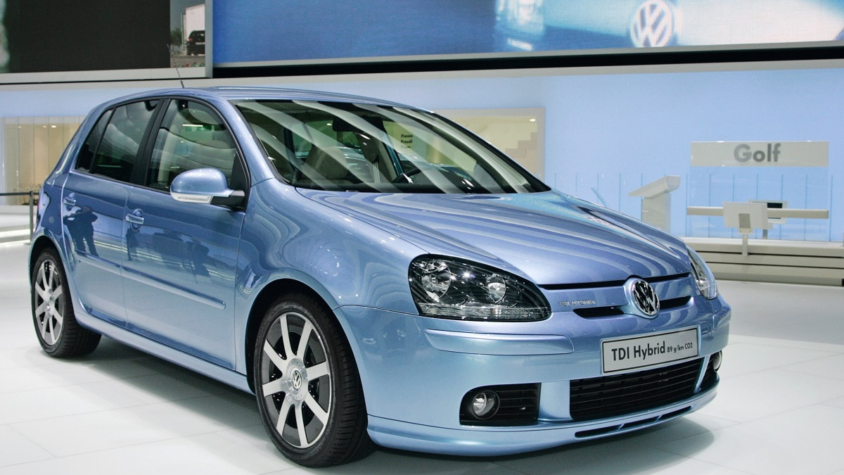 vw golf tdi hybrid 1