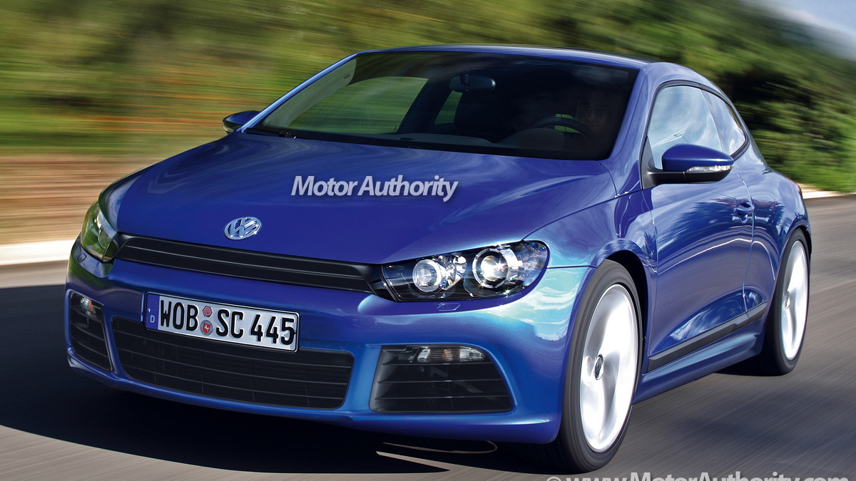vw scirocco r motorauthority