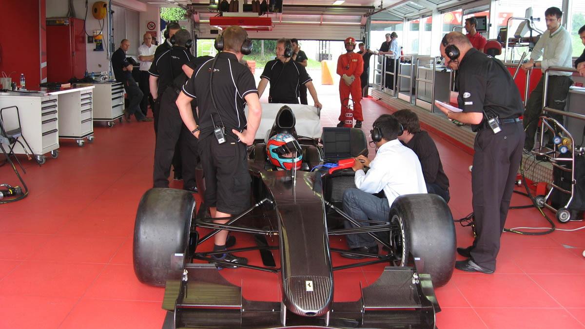 2008 ferrari a1gp shakedown motorauthority 001