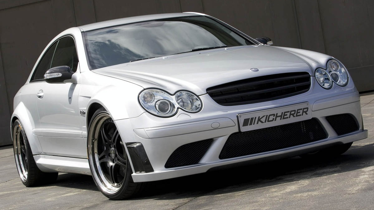 kicherer mercedes clk63 amg black edition motorauthority 001