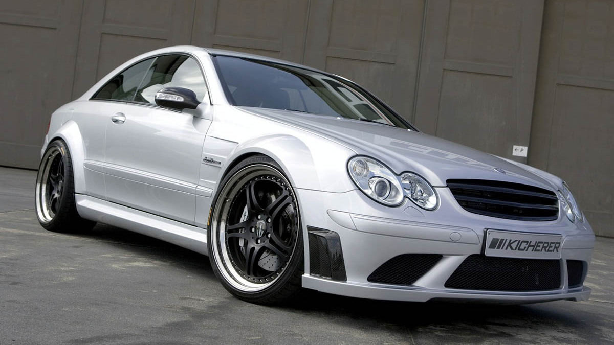 kicherer mercedes clk63 amg black edition motorauthority 005