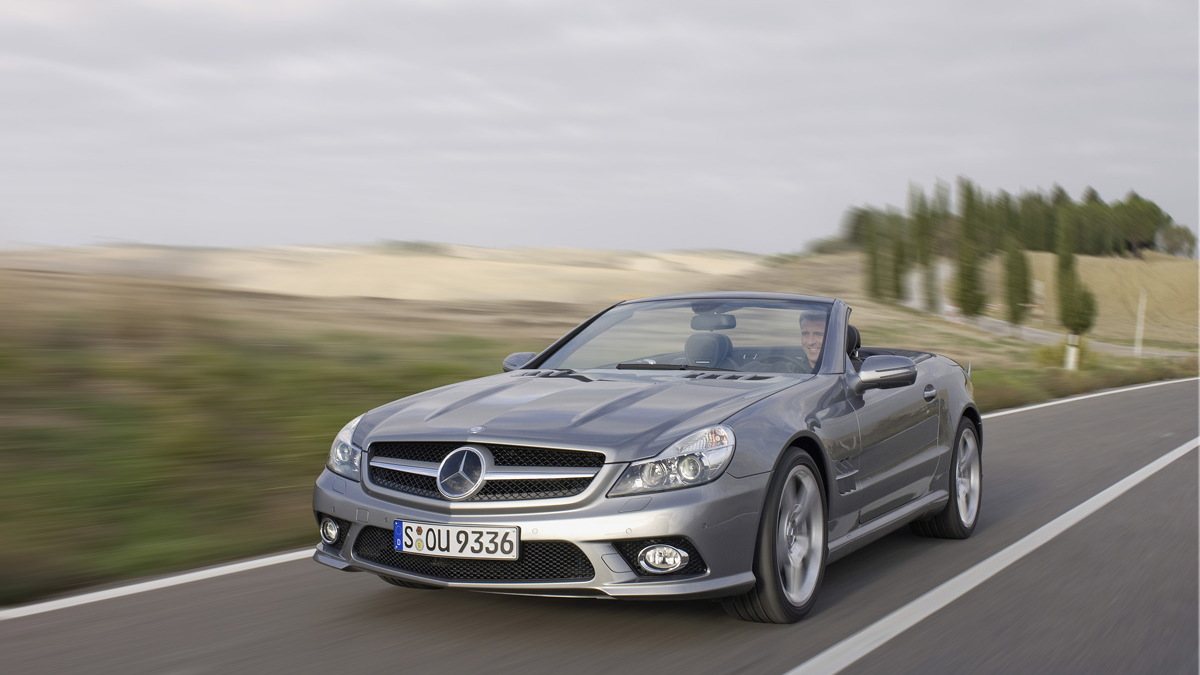 2009 mercedes sl facelift motorauthority 001