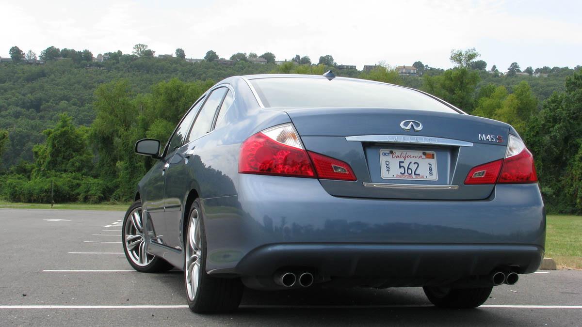 2008 infiniti m45s review motorauthority 002