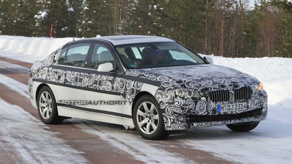2011 BMW 5-Series LWB