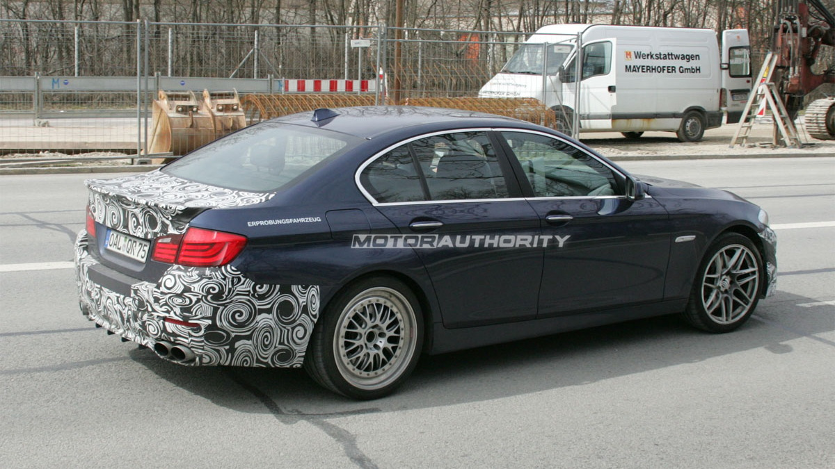 2011 BMW Alpina B5 spy shots