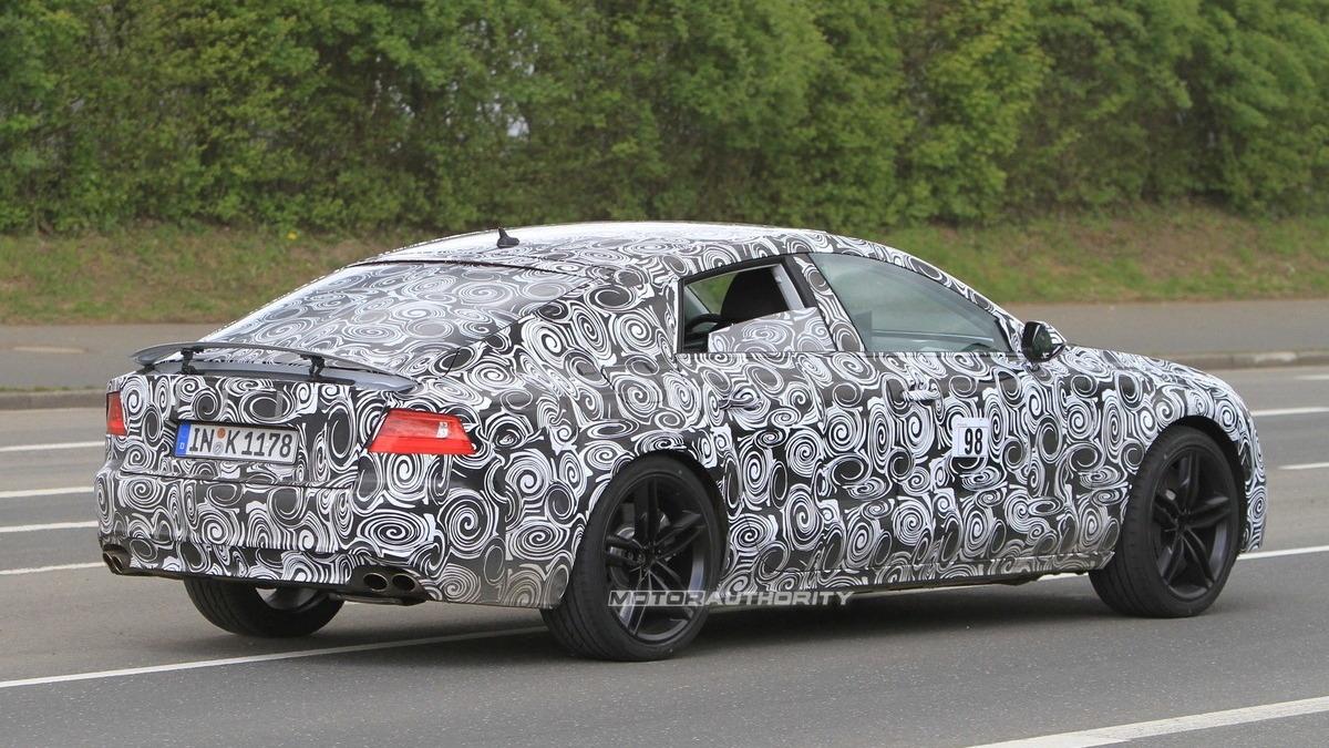 2012 Audi S7 spy shots