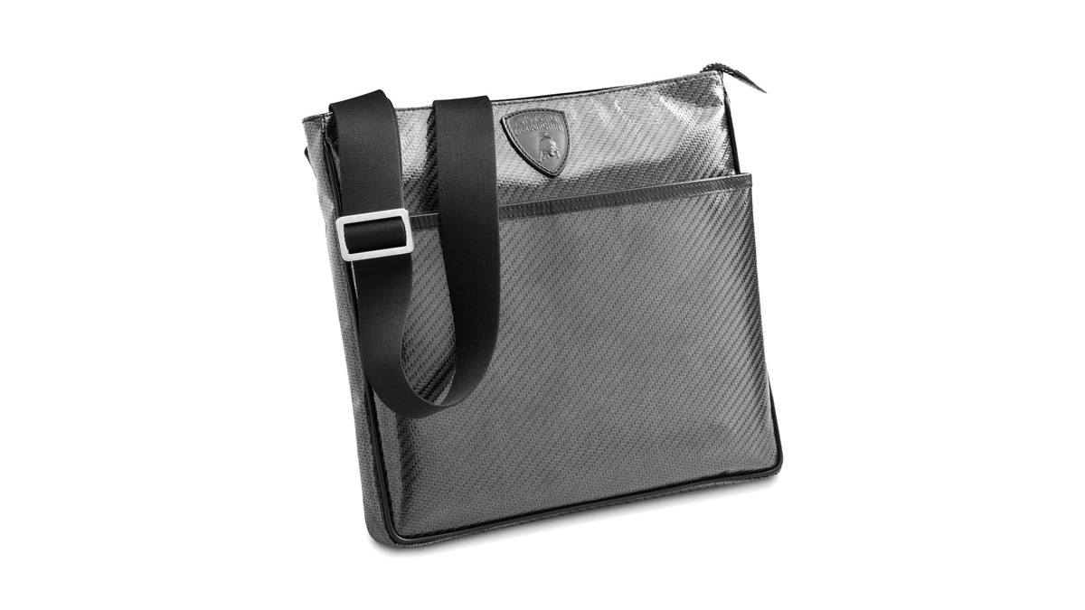 Lamborghini's carbon fiber envelope bag.