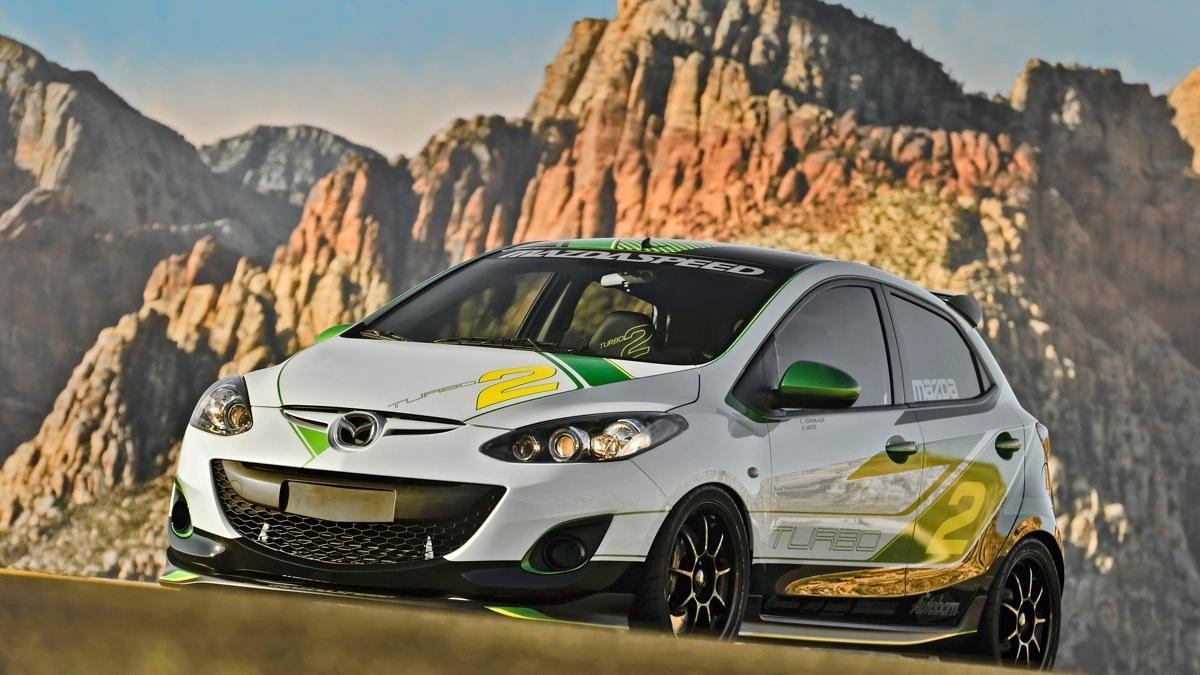 Mazda's Turbo2 concept for SEMA 2011. Image: Mazda