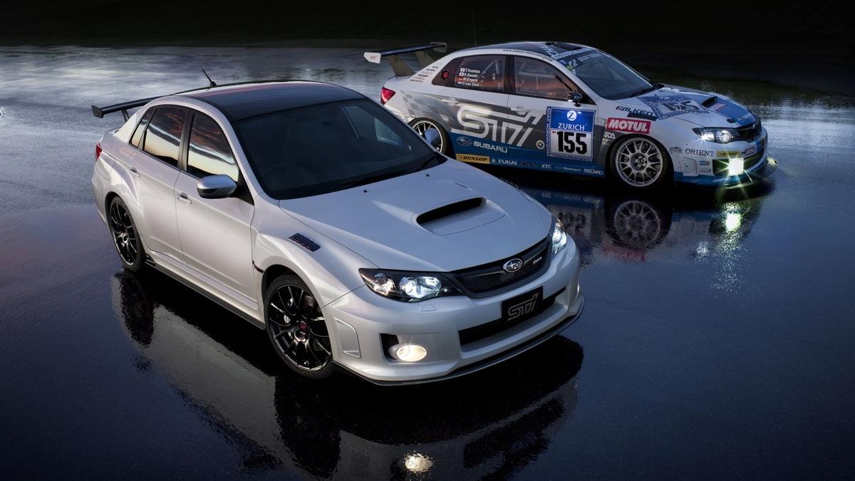 Subaru's Japan-only Impreza WRX STI S206 NBR Challenge.