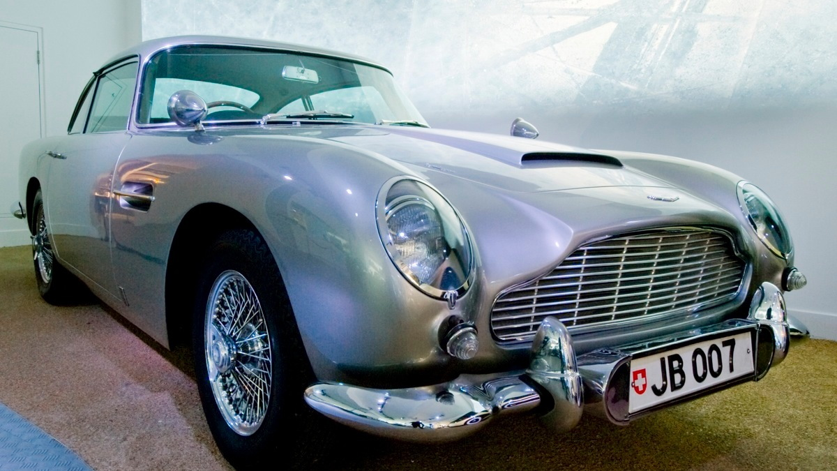 The 'Bond In Motion' Exhibit at Britain's National Motor Museum. Image: National Motor Museum