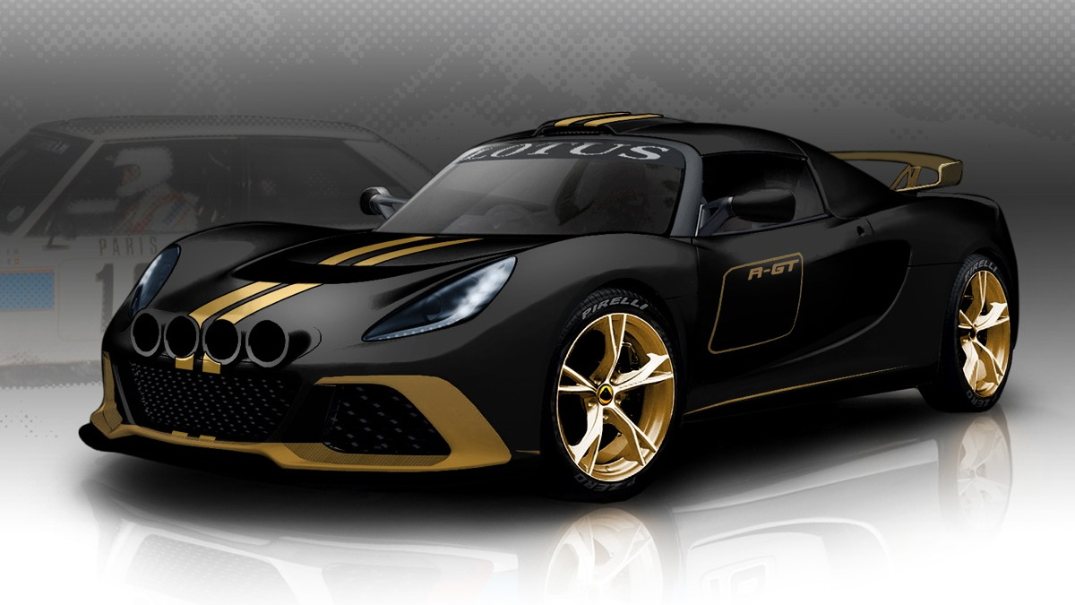 Lotus' Exige R-GT rally car