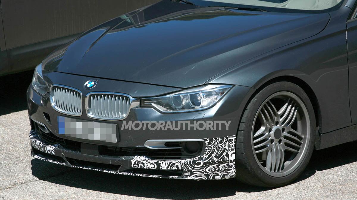 2013 BMW Alpina B3 spy shots